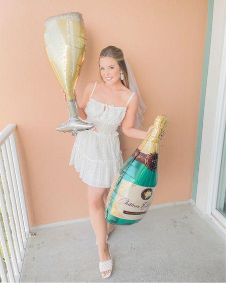 Bachelorette weekend outfits 👰🏼♀️✨🤍🥂 http://liketk.it/3iO6y #liketkit @liketoknow.it #LTKwedding