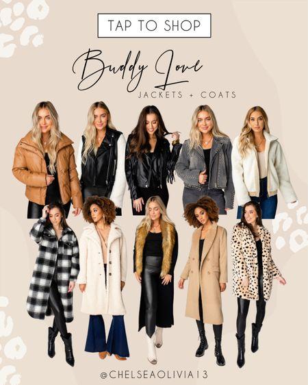 Top coats for the fall season at Buddy Love!!   #LTKSeasonal #LTKstyletip