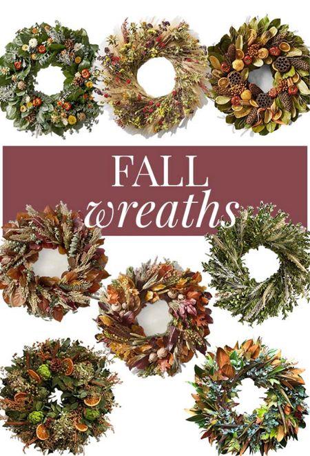 Wreaths to last the whole Fall season! #seasonaldecor #homedecor #falldecor #fallstyle   #LTKunder100 #LTKSeasonal #LTKhome