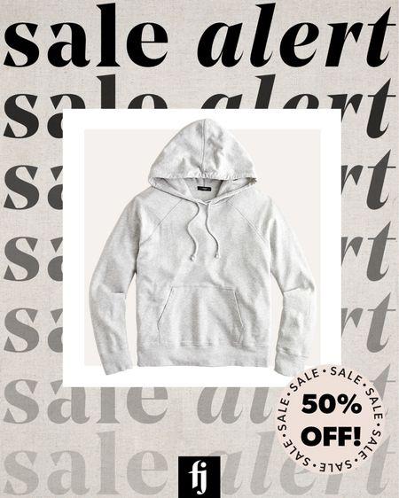 Grey hoodie sweatshirt from my fall capsule wardrobe on sale! #salealert   #LTKstyletip #LTKunder50 #LTKsalealert