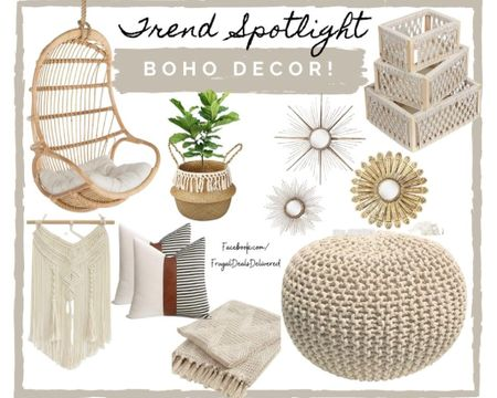 Boho home decor and swing chair is all about neutral style and shabby chic grays tans and whites. Perfect fashion easy remodel or redo of your living room, bedroom or dinning space!   Screenshot this pic to get shoppable product details with the LIKEtoKNOW.it shopping app make sure you follow FrugalDealsDelivered for more ideas and collage inspiration!   http://liketk.it/3emTb #liketkit @liketoknow.it #LTKstyletip #LTKhome #LTKfamily @liketoknow.it.home