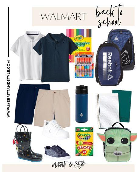 Walmart back to school favorites school supplies school uniforms back to school backpacks Walmart fashion   #LTKfamily #LTKunder50 #LTKkids
