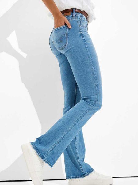 Denim boot cut jeans   . . @liketoknow.it #discoverunder5k #stevemadden #strawhat #whitedress #ltkseasonal #competition #nordstrom #pinklilystyle #Destin #vacationspot #gucci #Louisvuitton #homedecor #bedroom #patiofurniture #casualstyle #beachvacation #sunset #summer    #LTKtravel #LTKstyletip #LTKshoecrush