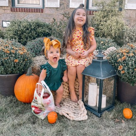 Bailey's blossoms, kids clothing, fall family photo outfits, kids fall dress, fall outfits, pumpkin patch   #LTKunder100 #LTKkids #LTKbaby