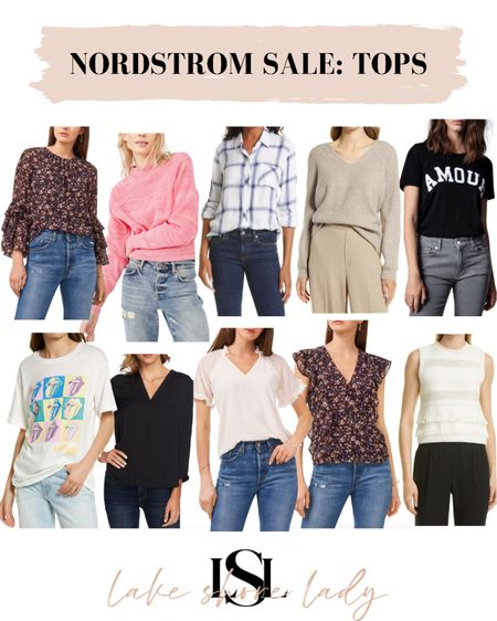 My favorite tops for the Nordstrom sale! #nsale  Blouses Sweaters Tshirts