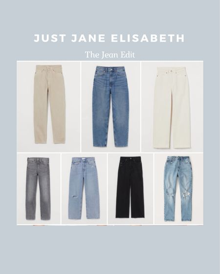 The Jean Edit: check out these cute jeans ranging from $50-$100! #liketkit http://liketk.it/3ahKK @liketoknow.it