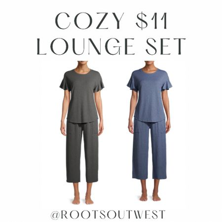 This is the comfiest set ever. And only $11 total for both pieces!!  #LTKsalealert #LTKfit #LTKstyletip