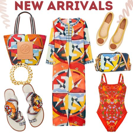 Bold & Bright  colors! The perfect transitional hues for the season. Tory Burch new collection.   #LTKitbag #LTKsalealert #LTKshoecrush