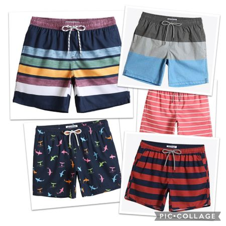 Nick's go-to swim trunks! He loves these for the liner and the length! So many colors and patterns to choose from! He recommends you size one up from your regular size.   http://liketk.it/3ca1o #liketkit @liketoknow.it   Screenshot this pic to get shoppable product details with the LIKEtoKNOW.it shopping app