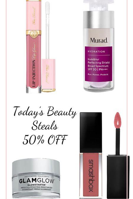 Today's Beauty Steals 😍 50% OFF   #LTKunder100 #LTKbeauty #LTKunder50