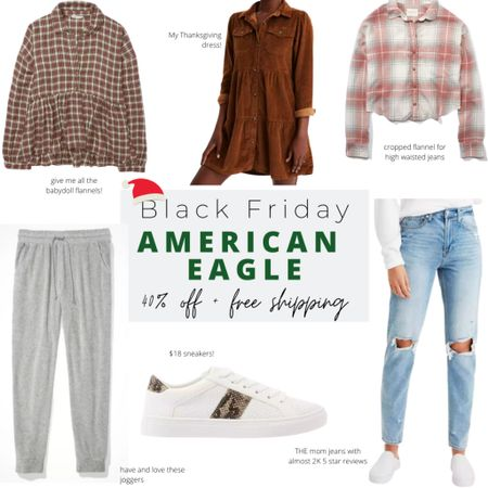 My American Eagle Black Friday sale picks! Use this as a gift guide for her or yourself🤗! http://liketk.it/321Ll #liketkit @liketoknow.it