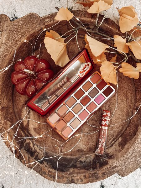 Fall must have eyeshadow palette  Sephora finds on sale at qvc Too faced  Lip color   #LTKHoliday #LTKGiftGuide #LTKbeauty