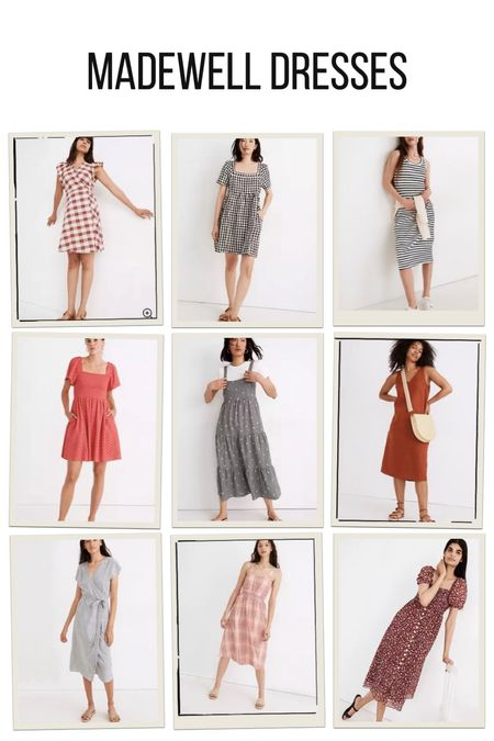 Madewell dresses, casual summer dresses   #LTKunder100 #LTKDay #LTKstyletip