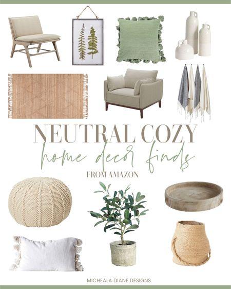 Neutral Cozy Home Decor Finds from Amazon. http://liketk.it/39EsP #liketkit @liketoknow.it #LTKhome @liketoknow.it.home