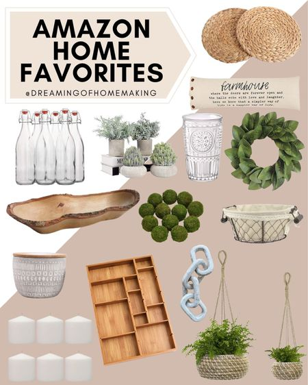 Amazon home favorites!!   Dreaming of Homemaking | #DreamingofHomemaking   #LTKhome #LTKunder50 #LTKunder100