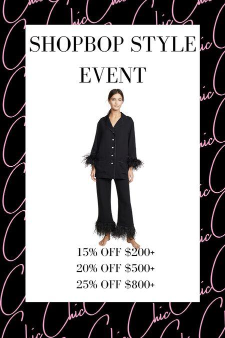 Shopbop Style Event   #LTKstyletip #LTKsalealert #LTKSeasonal