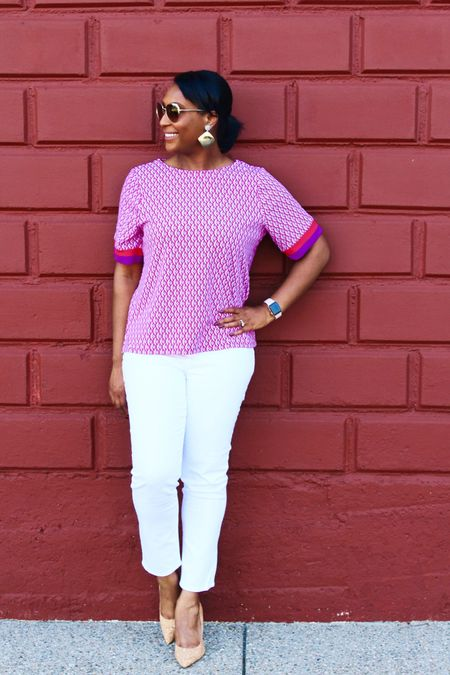 http://liketk.it/2BNNm What is your fear about wearing white jeans again? I have none! No Stain White Jeans from @lovechicos All Summer Long! Don't believe me just watch! #LoveChicos Head to the blog to see why I am loving these jeans. #NoStainChallenge  . . Shop my daily looks by following me on the LIKEtoKNOW.it app #liketkit @liketoknow.it  . .  #LTKbeauty #LTKshoecrush #LTKstyletip #LTKunder100 #LTKcurves