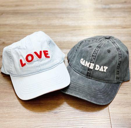 Super cute varsity letter hats for less than $10! ❤️  #LTKunder50 #LTKsalealert #LTKfamily