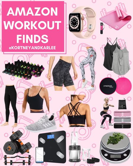 Amazon Workout Finds  Amazon fitness | lets get fit | amazon fitness equipment | fitness lover | amazon fitness finds | amazon workout finds | fitness junkie | amazon athletic finds | amazon water bottle | Kortney and Karlee | #kortneyandkarlee #LTKunder50 #LTKunder100 #LTKsalealert #LTKstyletip #LTKshoecrush #LTKSeasonal #LTKfit #LTKhome @liketoknow.it #liketkit http://liketk.it/3hLzQ