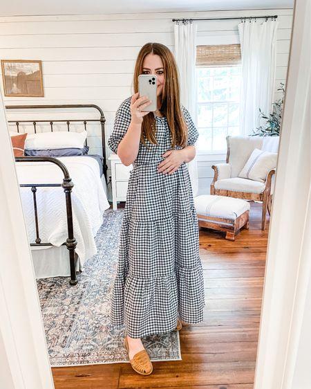 http://liketk.it/3ihgQ #liketkit @liketoknow.it great summer capsule dress that's also bump friendly! #LTKbump #LTKbaby #LTKfamily