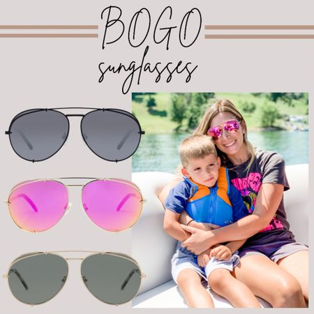 BOGO sunglasses plus free shipping at diff! I have these in pink and black and these are easily one of my favorite styles!    http://liketk.it/3h9q7 #LTKsalealert #LTKstyletip #LTKunder100 #liketkit @liketoknow.it