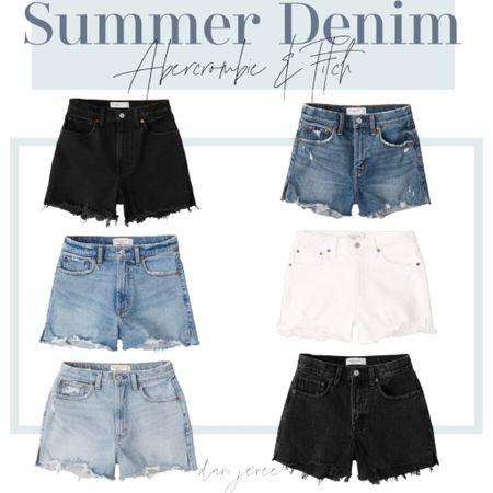 Denim must-haves for summer!  #LTKstyletip #LTKunder100 #LTKSeasonal