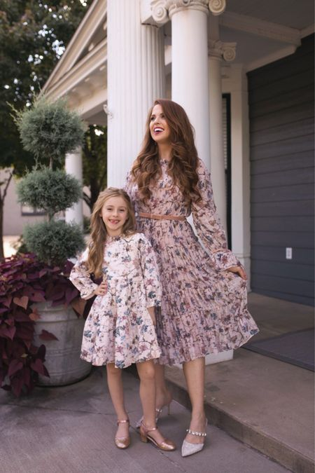 mommy and me fall dresses  #LTKkids #LTKfamily