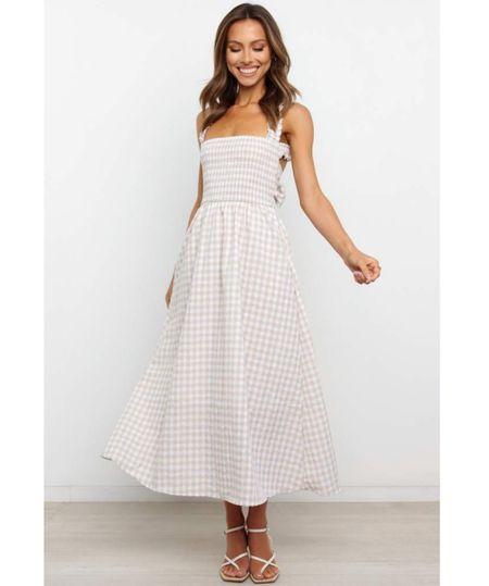 MIDI DRESS. Summer dress. Summer fashion. #LTKSeasonal  #LTKunder100 #LTKstyletip