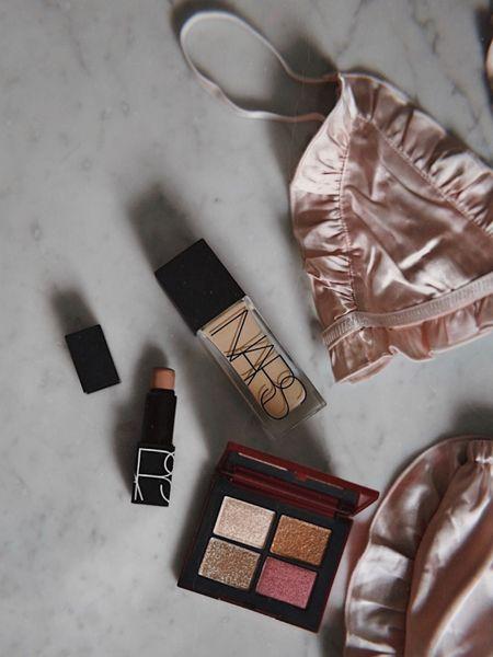 My everyday foundation and lipstick (Dolce Vita) and the new Chinese New Year Palette ✨ @narsissist http://liketk.it/2JIJv #liketkit @liketoknow.it