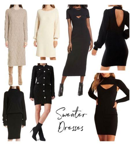 Sweater dress, fall outfit, fall sweater  #LTKstyletip #LTKSeasonal