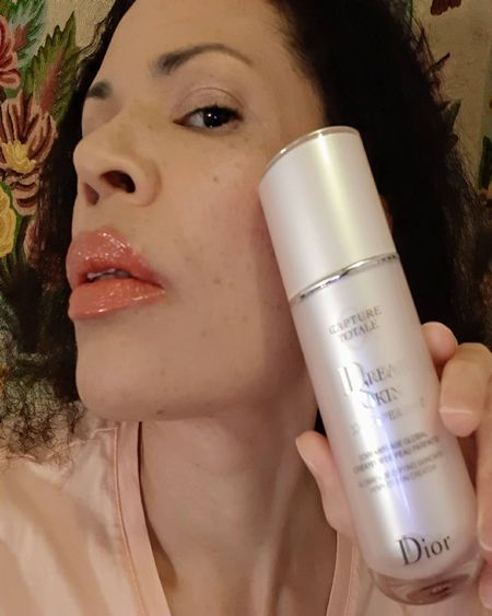 Dreamskin is a wonderful primer and serum in one. It creates a smooth, natural finish, and can be worn alone or in addition to my foundation. It's a handy part of my skin care and makeup routines. #Dior #Dreamskin #DiorSerum #DiorDreamskin #DiorPrimer #DiorCaptureTotale #CaptureTotale #DiorSkinPerfector #DiorSkinCare #FacialSerum #AntiAging   #LTKbeauty #LTKsalealert #LTKtravel