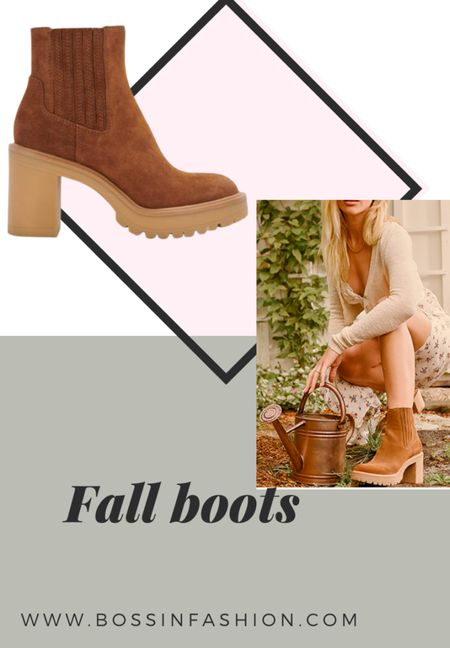 Shop the best fall styled ankle boots. These suede boots are stunning. Shop this looks! #ankleboot #boots #fallboots #fallstyle  #LTKshoecrush #LTKstyletip #LTKSeasonal