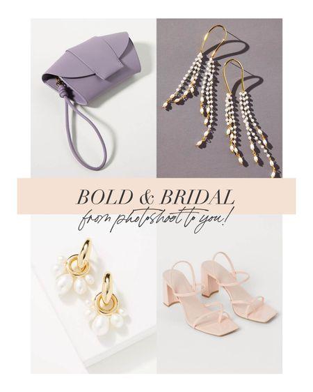 Bringing bold bridal accessories from editorial to you!  #LTKstyletip #LTKshoecrush #LTKwedding