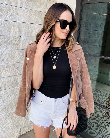 This jacket is one of my very favorite items on the #nsale! I wear a size xs. Size 26 in the shorts and xs in the tank! #nordstromanniversarysale #nordstrom   #LTKsalealert #LTKstyletip #LTKunder100