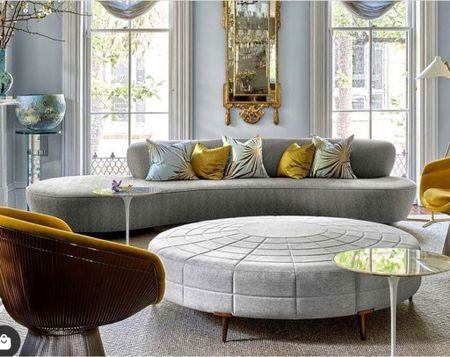 The combination of Midcentury Modern meets Marine Antoinette's living room.   #LTKhome #LTKsalealert
