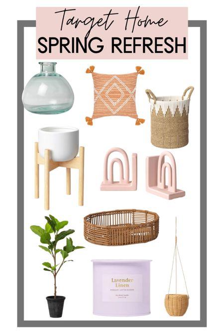 #LTKhome refresh!! All of the cutest target finds for your home for a little spring refresh! http://liketk.it/3ayCT #liketkit @liketoknow.it #LTKsalealert #LTKunder50