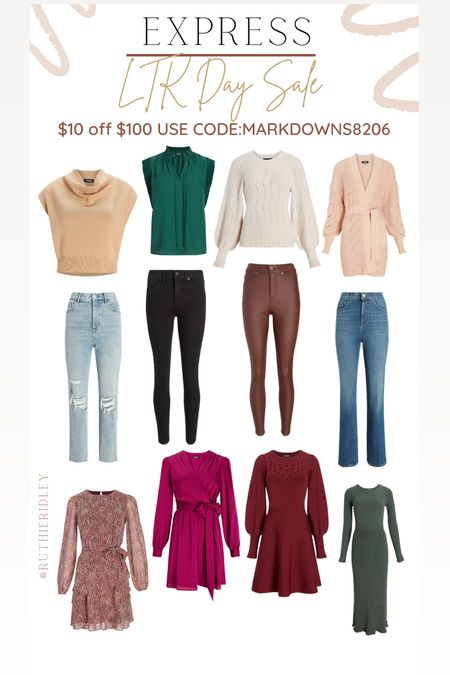 Express LTK SALE🙌🏾🙌🏾 LTK SALE express Fall fashion fall outfit ideas fall Inspo jeans Sweaters and Cardigan Dresses  Sweater Dresses  #LTKSale #LTKSeasonal #LTKstyletip