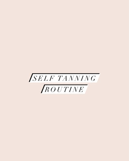 My self tanning routine! I always use the loving tan 2 hour express in dark. http://liketk.it/3gM5H #liketkit @liketoknow.it #LTKbeauty
