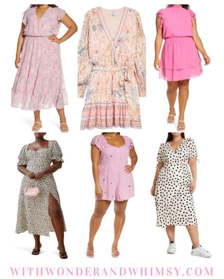 Cute new plus size dresses from Nordstrom!🌸   http://liketk.it/3fMME #liketkit @liketoknow.it #LTKcurves #LTKwedding