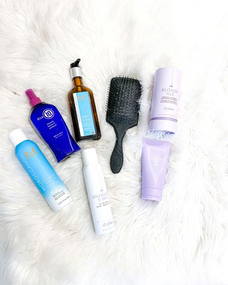 If you have hair like I do, all of these are extremely necessary.  My hair may be beautiful, but my gosh does it tangle easy!! Rag doll hair, for real.   These products were my survival tool kit for humidity, pool, and dancing the night away hair! 🙌🏽🙏🏽  If you're only going to do one - It'sa10 detangler is the move! Everything is linked!    http://liketk.it/33NoD #liketkit #LTKbeauty @liketoknow.it You can instantly shop my looks by following me on the LIKEtoKNOW.it shopping app