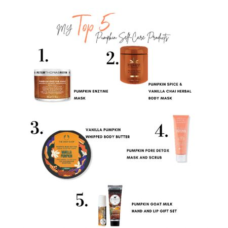 It's #PumpkinSpice season and even my Self-Care products contain Pumpkin! Here are my Top 5!   #LTKGiftGuide #LTKbeauty #LTKSeasonal