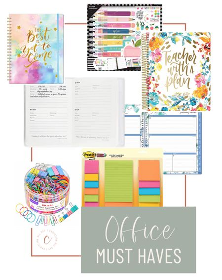 Who doesn't love a bunch of planners and office supplies?!   #LTKunder50 #LTKworkwear #LTKhome