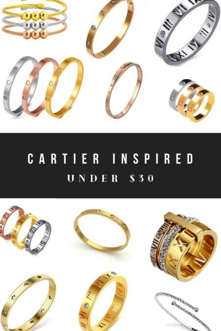 Cartier inspired jewelry! http://liketk.it/3gUsr @liketoknow.it #liketkit #LTKunder50 #LTKstyletip #LTKsalealert