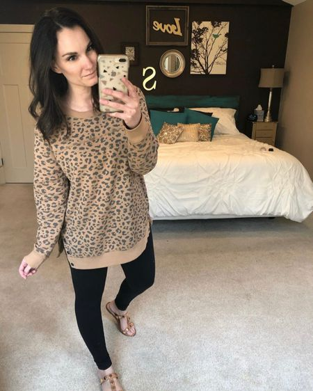 My absolute favorite everyday leggings are these Zella Live In High Waisted leggings. I own a week's worth! Also loving these @abercrombie side-snap sweatshirts during this time at home. http://liketk.it/2N439 #liketkit @liketoknow.it #StayHomeWithLTK #LTKstyletip Shop my daily looks by following me on the LIKEtoKNOW.it shopping app