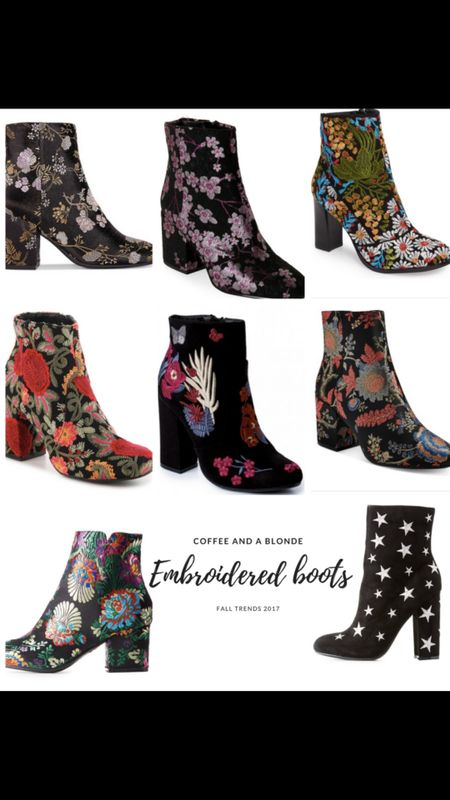 Embroidered booties for fall! All under 100 http://liketk.it/2sUEt #liketkit @liketoknow.it