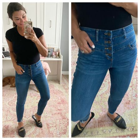 Best jeans for fall under $30   #LTKstyletip #LTKunder50 #LTKunder100