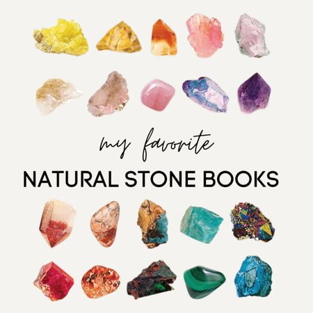 """Hi, lovers! These are my favorite educational books for natural stones. They are filled with so much information and it is so fascinating! These are a MUST HAVE!   www.bombshellbeads.com use code """"KIM"""" for 20% off!   #LTKunder50 #LTKfamily #LTKunder100"""