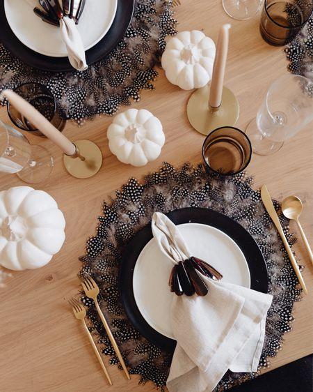 Fall table setting inspiration