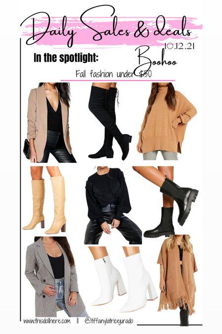 Fall fashion, blazer, sweater, boots, booties, cardigan   #LTKunder50 #LTKSeasonal #LTKstyletip