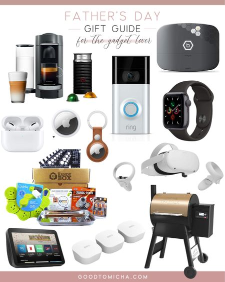 Father's Day gift guide for the gadget loving dad! http://liketk.it/3haQB #liketkit @liketoknow.it #LTKmens #LTKhome #technology #gadgets #fathersday #giftguide